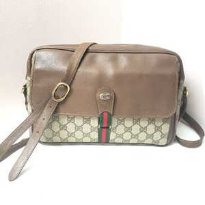 Authentic vintage Gucci large crossbody